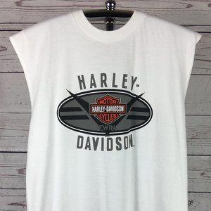 NWOT HARLEY DAVIDSON SLEEVELESS T-SHIRT SIZE L